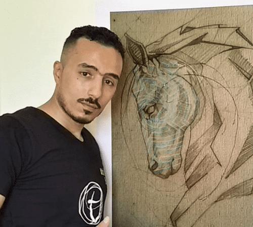 <b>Mohamed Elraie, Egitto, Vincitore contest VDW</b>, Artista